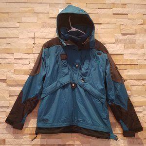 North Face Womens 8 Blue Ski Snowboard Jacket Coat